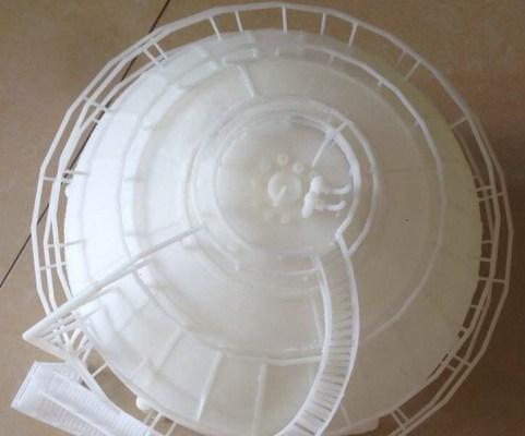 3D Printed Water Tower Closeup