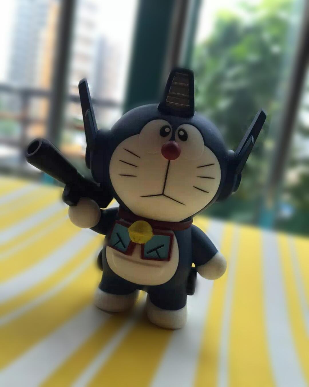 Doraemon print and text