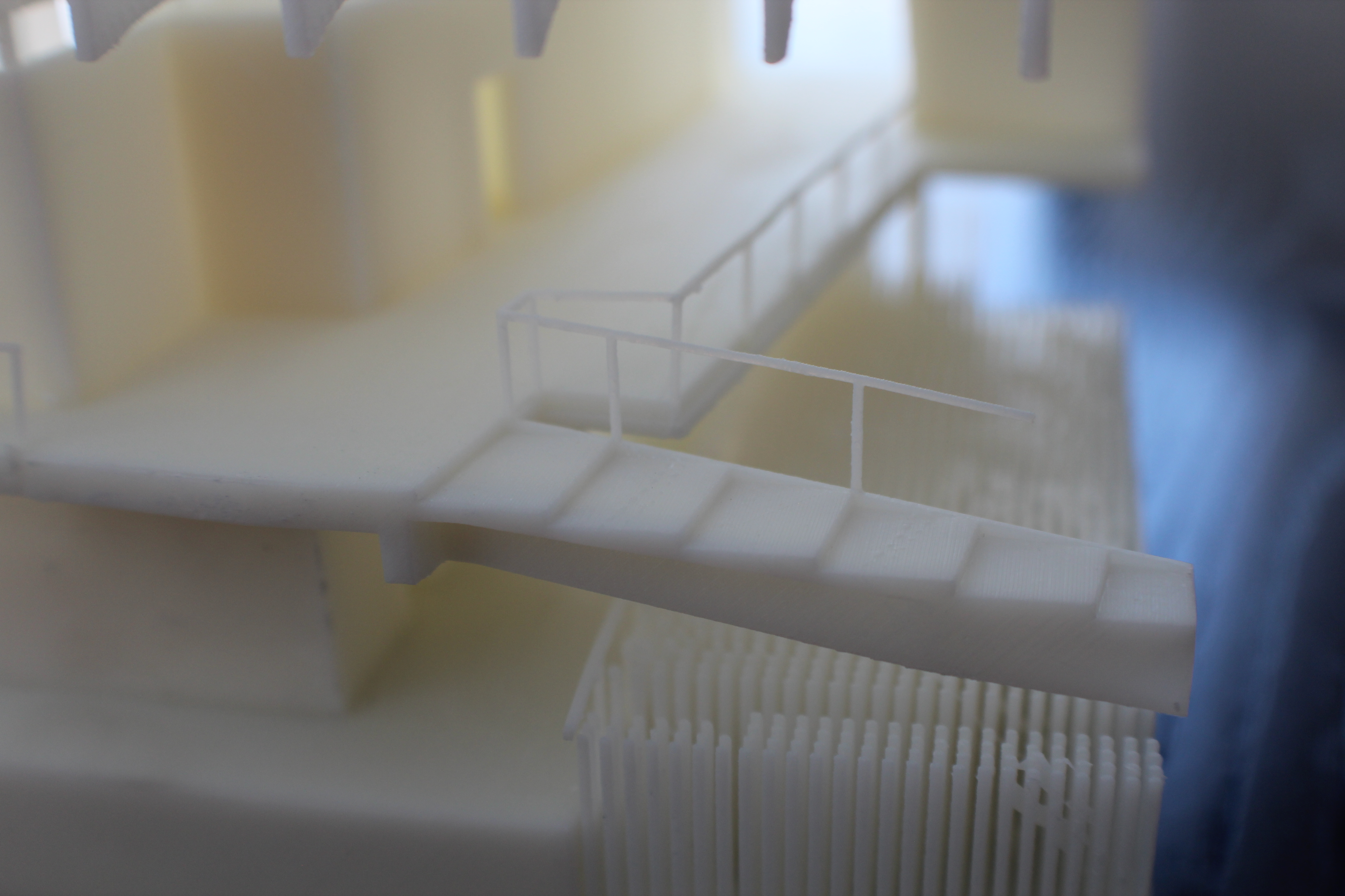 3D printed China House Rails