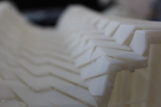 3D printed China House roof