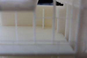 3D printed China House interior