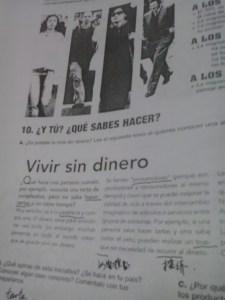 Por algún motivo, me sentí algo identificada al ver esto en un libro de español para extranjeros