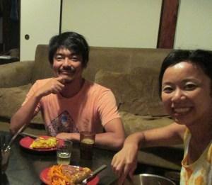 Los japoneses que conocí cerca de Tokio.