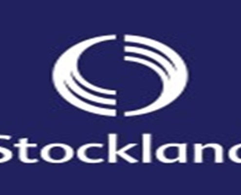 The picture shows Stockland Corporation brand an australian blue chip