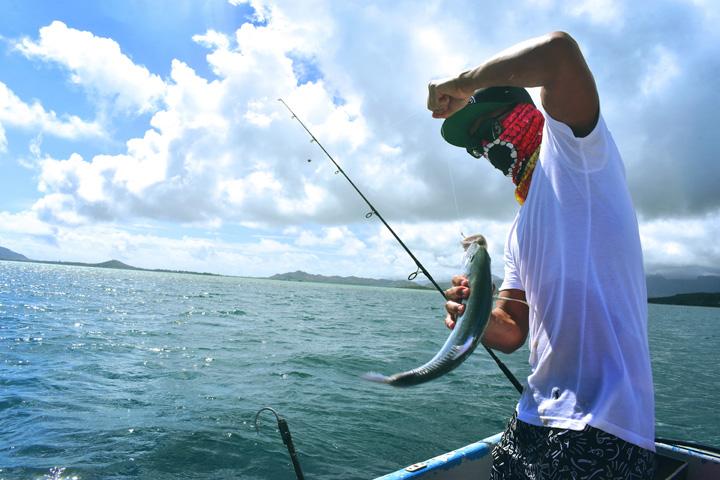 Sentapan yang tepat bila memancing