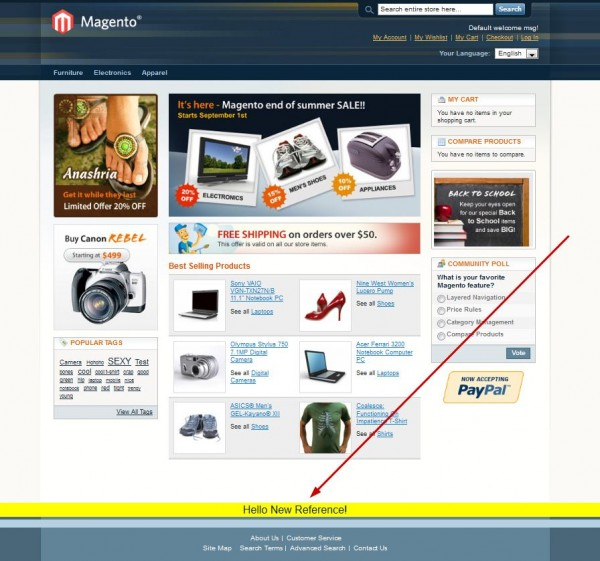 Magento New Reference