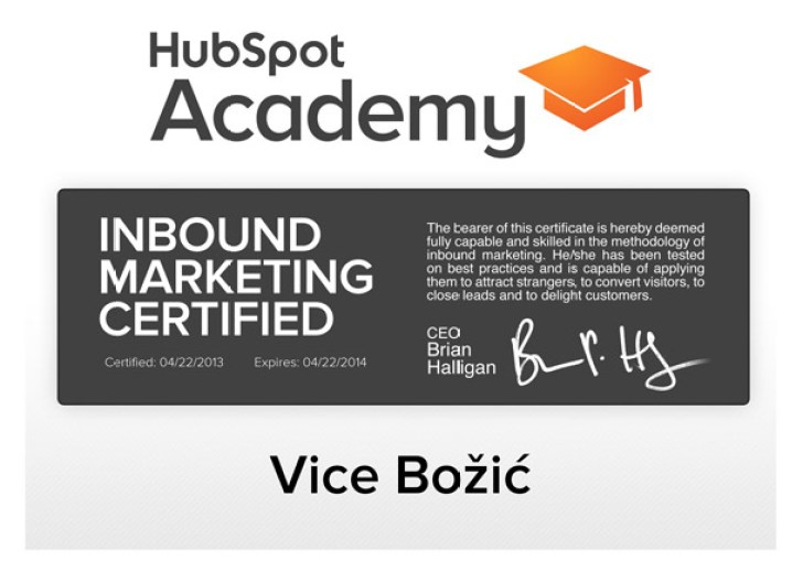 Inbound Certification Answers