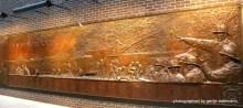 Detail der Gedenktafel an der Feuerwache
