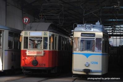Beide Bahntypen kenne ich noch. Allerdings waren hier alle gelb