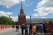 Dreifaltigkeitsturm und Kremlpalast