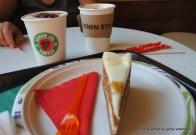 Und noch mal carot cake im Lenin Café