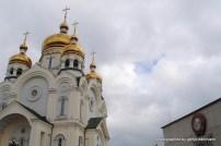 Die drittgrößte Kathedrale Russlands, die Christi-Verklärungs-Kathedrale. Neu ist sie auch und wurde in nur zwei Jahren errichtet. Und rechts der Leninorden