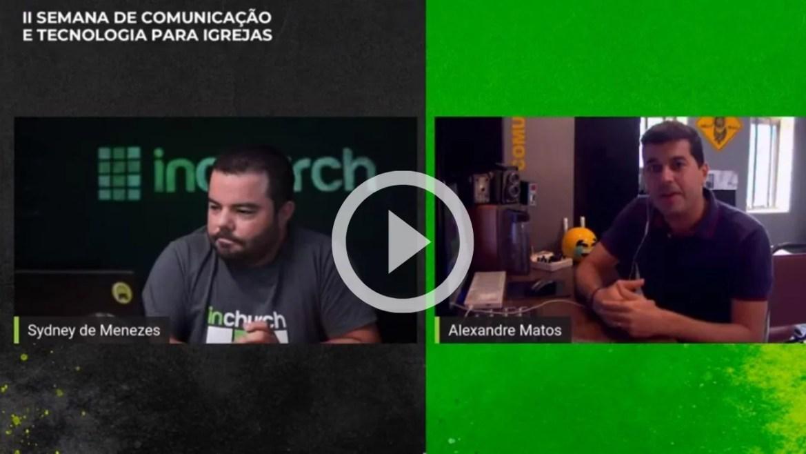 Vídeo áudio para transmissão ao vivo uninchurch