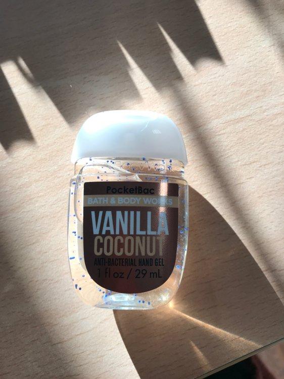 Vanilla Coconut Hand Sanitizer : vanilla, coconut, sanitizer, Works, Vanilla, Coconut, Pocketbac, Sanitizer, Beauty