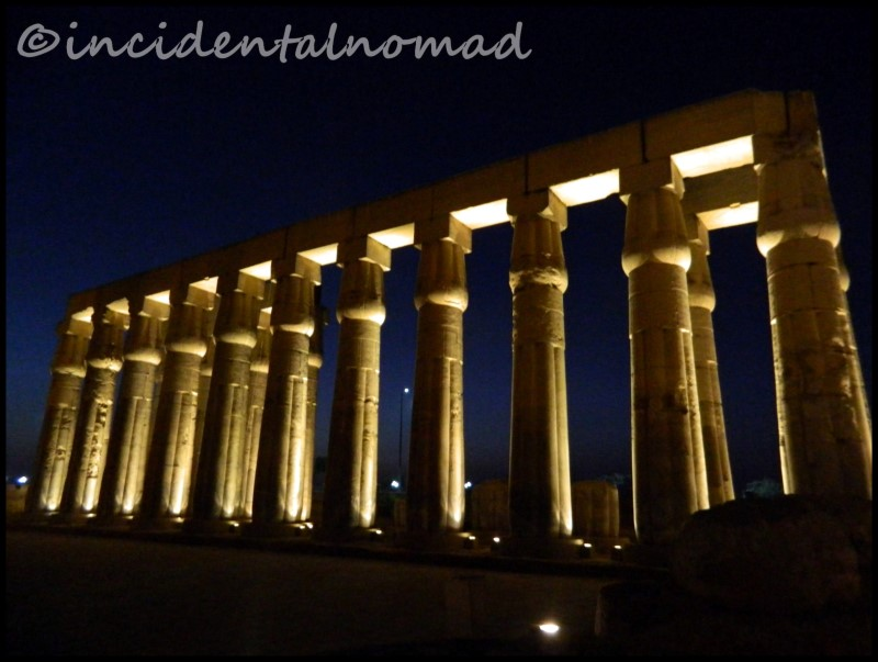 Night View - Luxor Temple