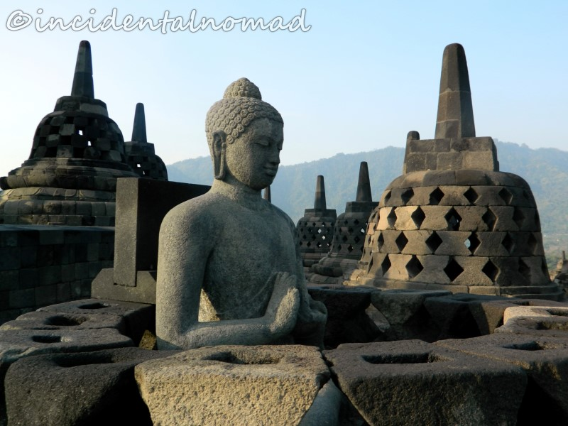 A man made wonder - Beautiful Borobudur