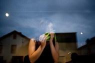"Rachel Hrbek: ""Easy Consumption Pt. 3: Celery"" Photo: AviGupta"