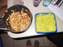 Guacamole, a traditional Mexican Seder dish