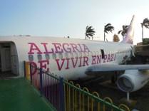 Decomissioned airplanes make great propoganda