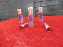 Perfume utilizing local natural ingredients