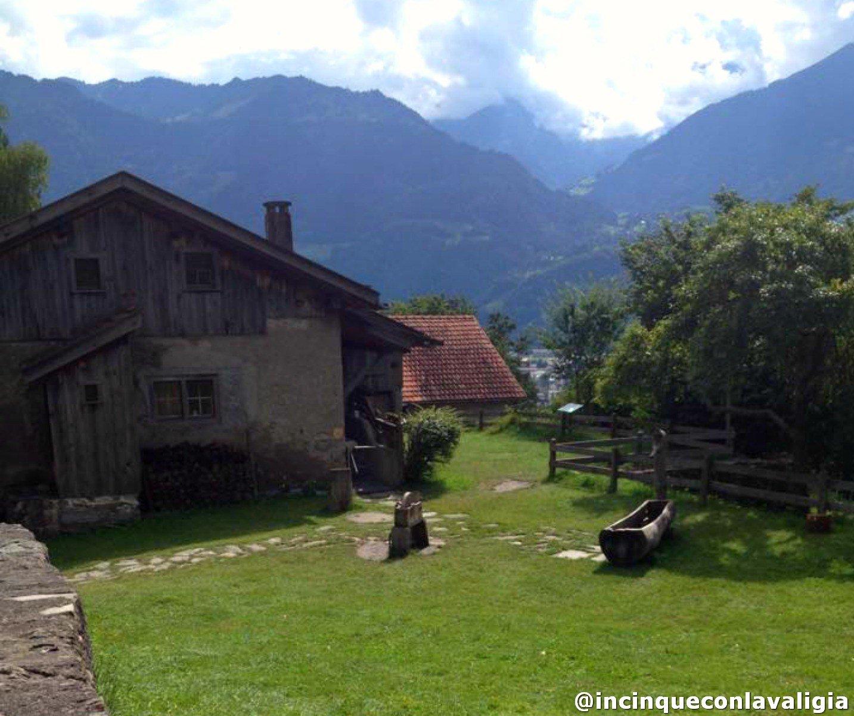 La casa di Heidi a Maienfeld in Svizzera