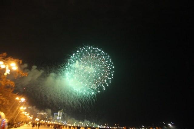 Салют в честь праздника Новруз в Баку4