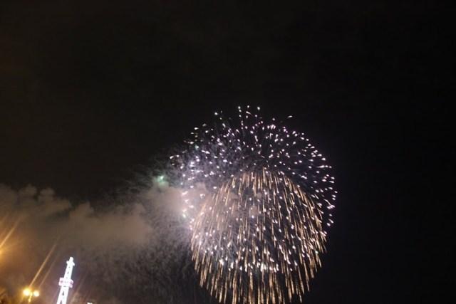 Салют в честь праздника Новруз в Баку5