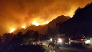 Dolan Fire First Night Aug 18 photo credit by Kate Novoa and Connie McCoy