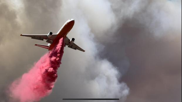 Very Large Airtankers (VLATs) are capable of delivering over 8,000 gallons of fire retardant to support firefighters on the ground.