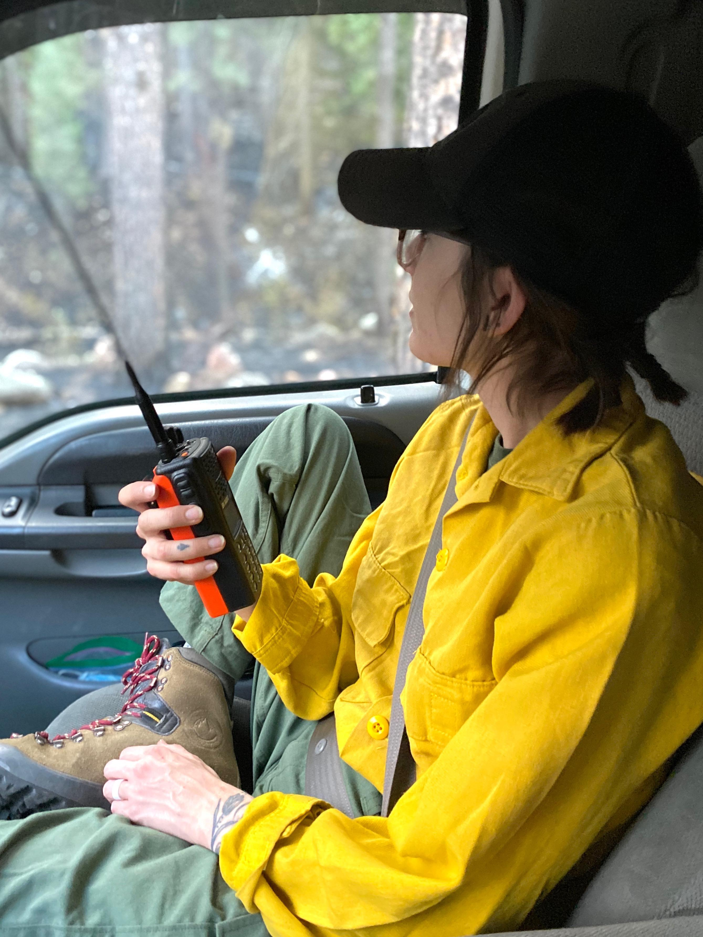 Image of Wilderness Medics Inc. crew member on Tadpole fire 06/11/2020 by Molly Barker