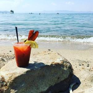 Bloody Mary at the Beach