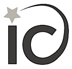 Logo is an i and a c and a star