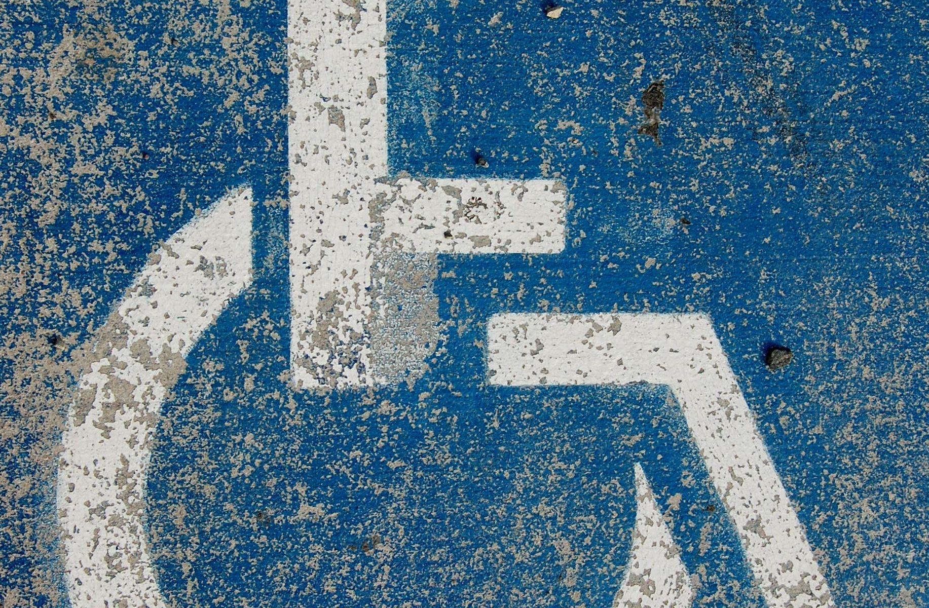 Símbolo de espacio accesible