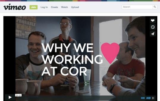 COR on Vimeo