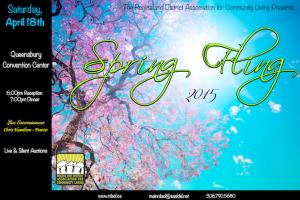 Spring Fling 2015 poster