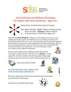 SA Wellness Workshop Poster March 2016