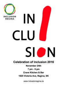 Celebration of Inclusion 2016