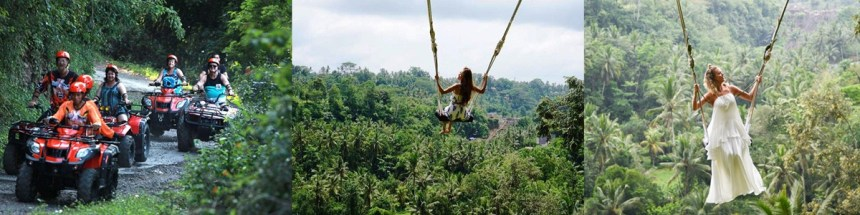 Bali Swing and ATV Ride Adventure Tour