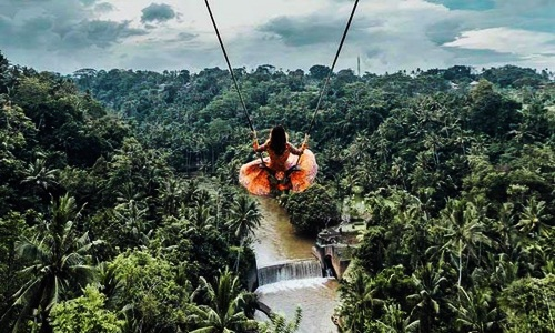 Bali Swing and Uluwatu Temple Tour
