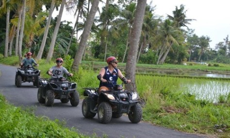 Bali ATV Ride and Uluwatu Tour