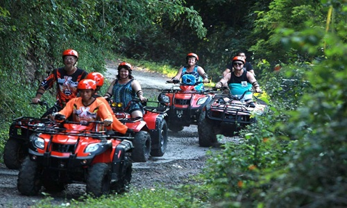 Bali ATV Ride and Uluwatu Temple Tour