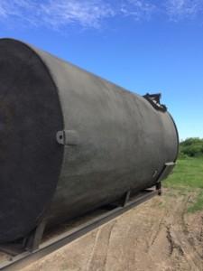 400 BBL Heated Tank Inclusive En