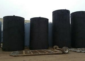 Heated Storage Tanks 750 BBL