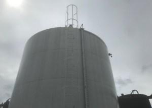 Used 2000 BBL Storage Tank