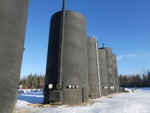 1000 BBL UNUSED Heated Sales Storage Tanks
