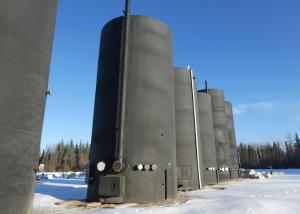 1000 BBL UNUSED Heated Sales Storage Tanks