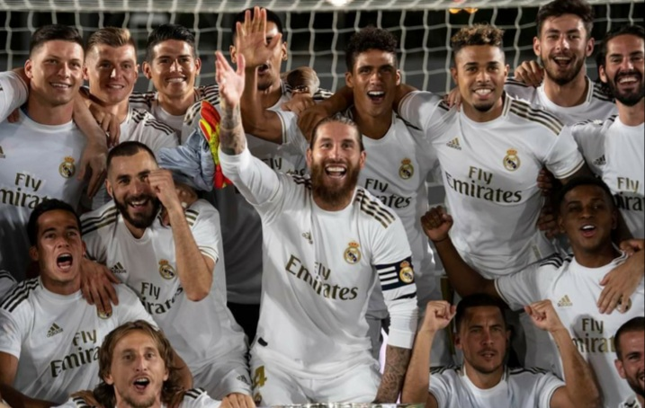 BREAKING: Real Madrid win 2019/2020 La Liga title