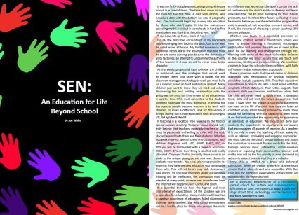 SEN Special Education Article