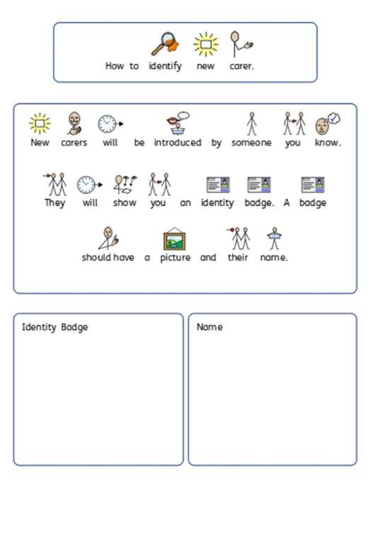 Free SEN teaching Autism worksheets