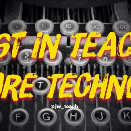 Invest in Teachers before Technology